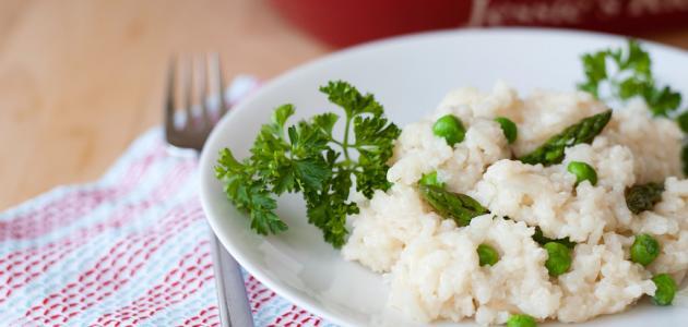طريقة عمل أرز بالبازيلاء