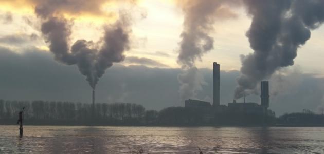 بحث عن مصادر تلوث الهواء