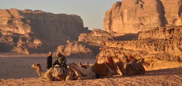 معالم في الأردن
