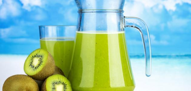 طريقة عمل عصير الأناناس والكيوي