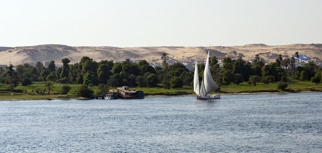 بحث عن أهمية نهر النيل وأسباب تلوثه
