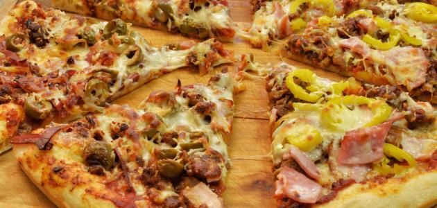 كيف تصنع بيتزا