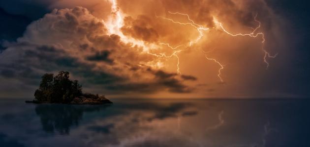 من أين يأتي صوت الرعد