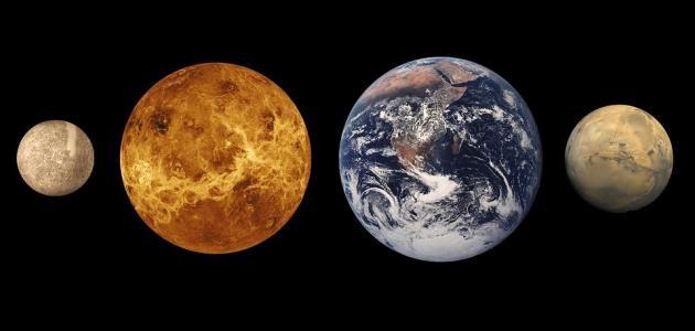 كم عدد الأقمار في كل كوكب