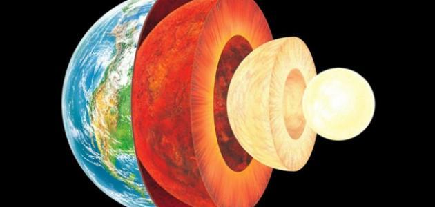 من ماذا تتكون الأرض
