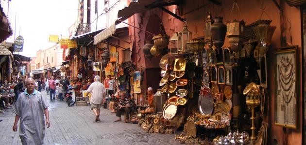 المدينة القديمة بمراكش