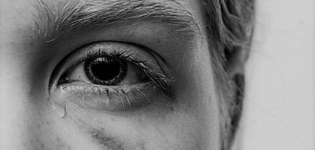 كلام جميل عن دموع العين