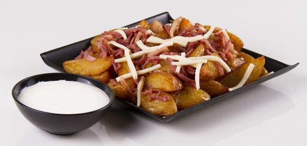 طريقة عمل أقراص البطاطس