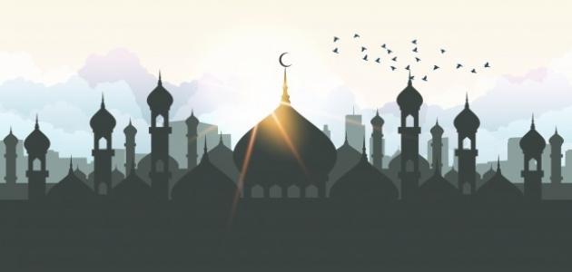 كلام جميل وقصير عن رمضان