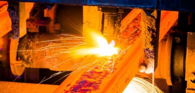 مراحل صناعة الحديد