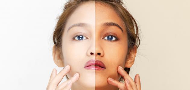 طريقة عمل قناع تبييض الوجه