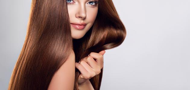 طريقة صبغ الشعر لون بني فاتح
