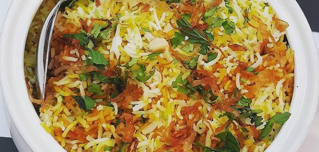 طريقة عمل أرز زربيان