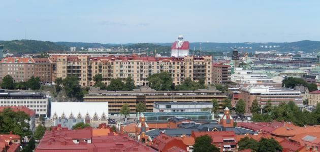 مدن السويد