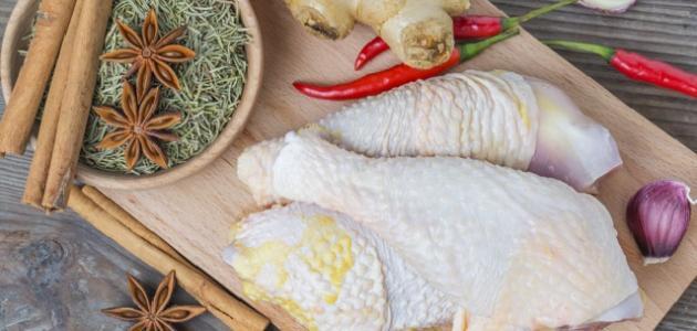 مكونات تتبيلة الدجاج