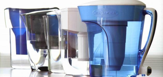 مكونات فلتر المياه