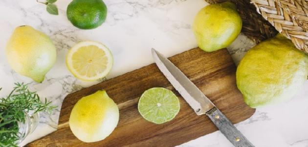كيفية حفظ الليمون