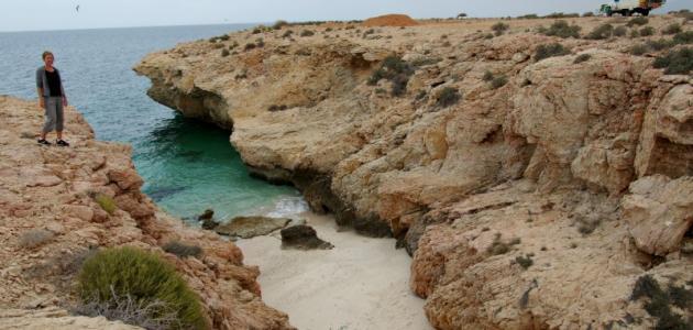 موقع جزيرة مصيرة