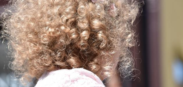 علاج الشعرالخشن عند الأطفال