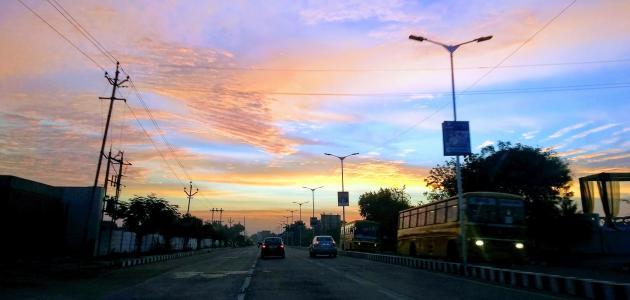 مدينة أحمد آباد الهندية