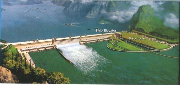ما أكبر سد في العالم