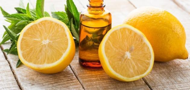 فوائد زيت الليمون للبشرة الدهنية