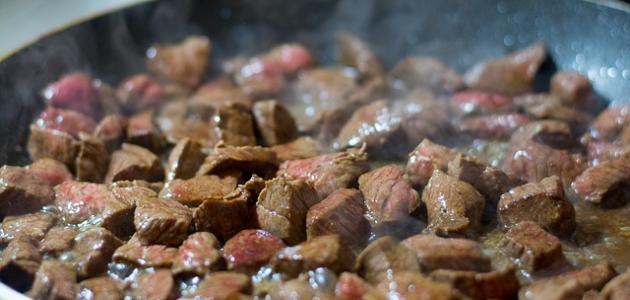 طريقة عمل اللحم ناشف