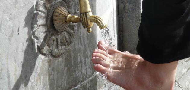 أنواع الماء وأحكامها