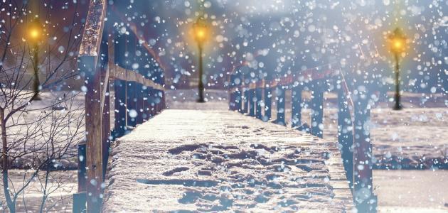 كلمات عن الثلج