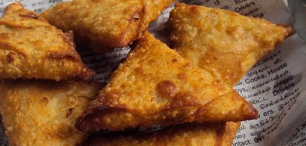 Action samosas chips Yemen