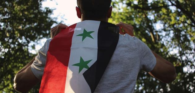 كلمات جميلة عن سوريا موضوع