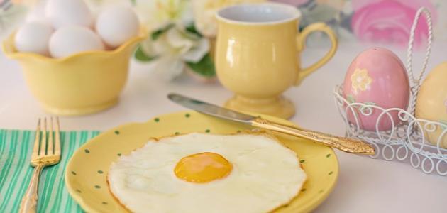 طرق تحضير البيض للفطور