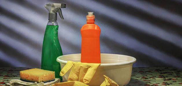 كيفية صناعة مواد التنظيف