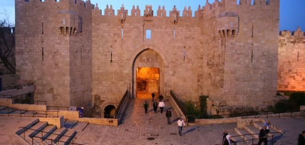 عدد أبواب القدس وأسمائها