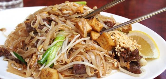 طريقة عمل نودلز صيني بالدجاج