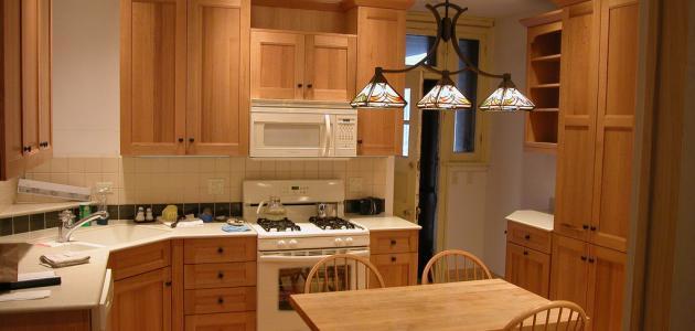 كيفية ترتيب المطبخ
