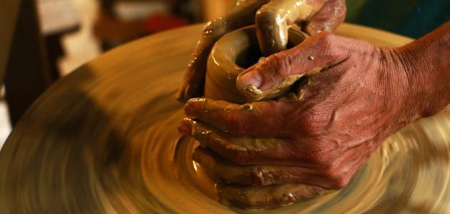 كيفية صنع طين الصلصال