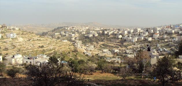 كم مساحة فلسطين