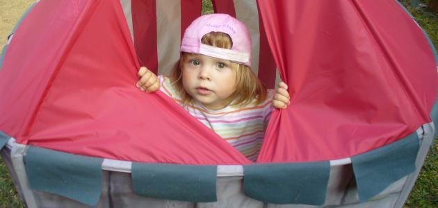 كيفية صنع خيمة للأطفال