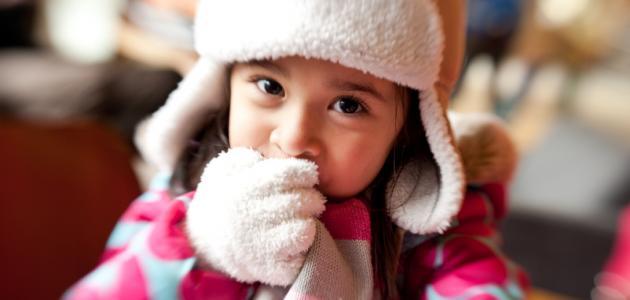 ماذا يلبس الطفل في الشتاء