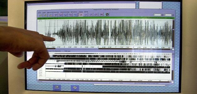 قياس شدة الزلزال