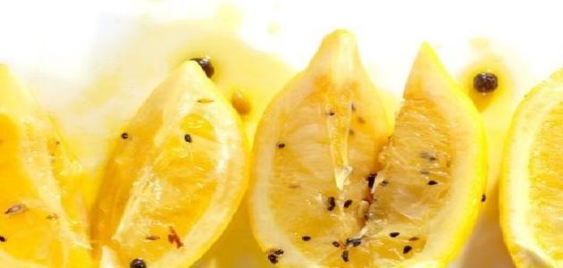 طريقة عمل مخلل الليمون والفلفل