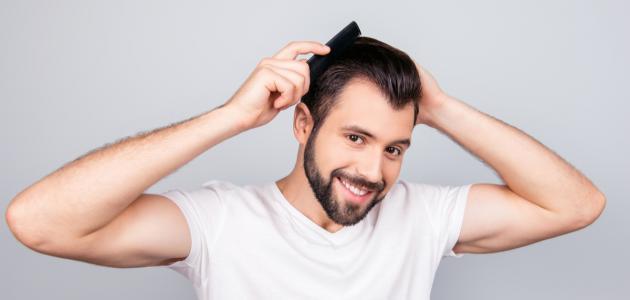 كيفية فرد الشعر للرجال بالبيت