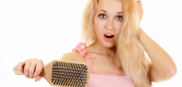ما العلاج لتساقط الشعر