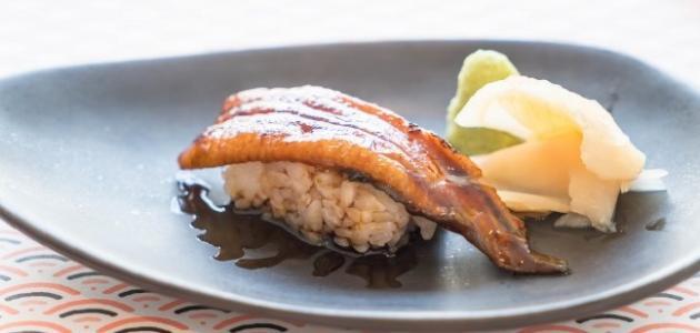 طريقة عمل ثعبان السمك بالأرز