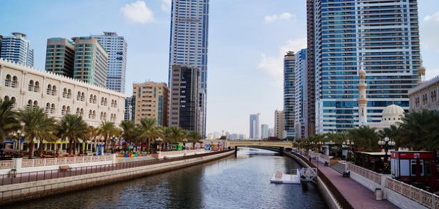 كم تبعد الشارقة عن دبي