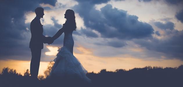 ما يقال للعروسين