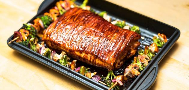 طريقة عمل صينية لحم بالفرن
