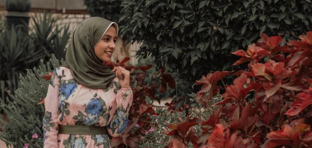كيفية لبس الحجاب