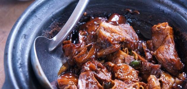 طريقة عمل مقلقل اللحم الحاشي